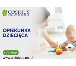 Opiekunka dziecięca w Szkole COSINUS we Włocławku. Rekrutacja trwa!