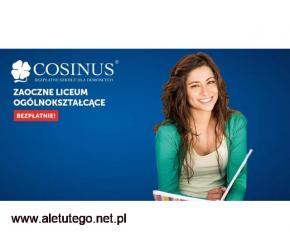 Zdobądź wykształcenie średnie i zapisz się do darmowego LO w Cosinusie!