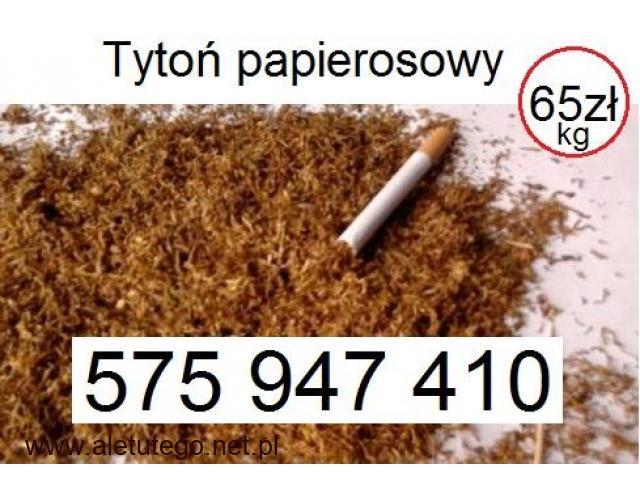 Tani tytoń papierosowy 65zł/kg www.Tyton-Hurt.pl