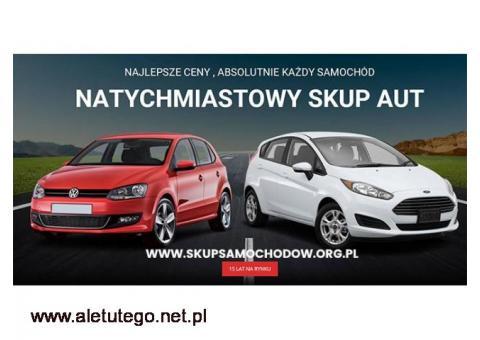 Skup Aut - Sprzedaj Auto bez wychodzenia z domu RÓWNIEŻ POWYPADKOWE ,USZKODZONE ,ROZBITE