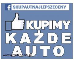 Skup samochodów osobowych KAŻDE , dostawczych / FACEBOOK