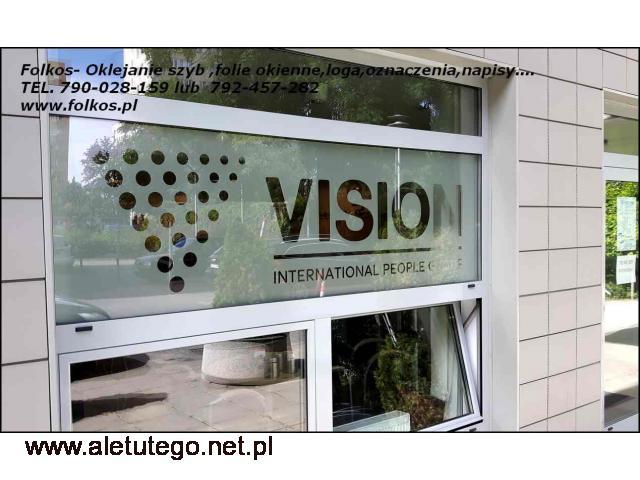 Oklejanie szyb Warszawa ,Łomianki Folie na okna i drzwi - 2/2