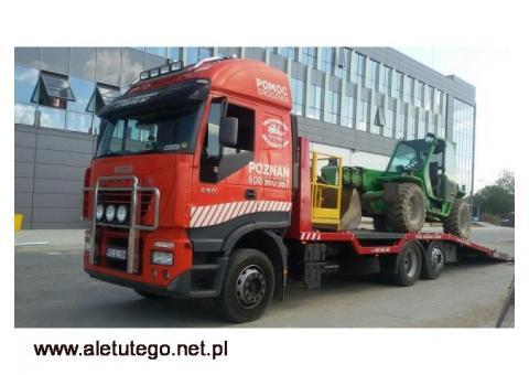Transport Maszyn Budowlanych Laweta 12 Ton Poznan