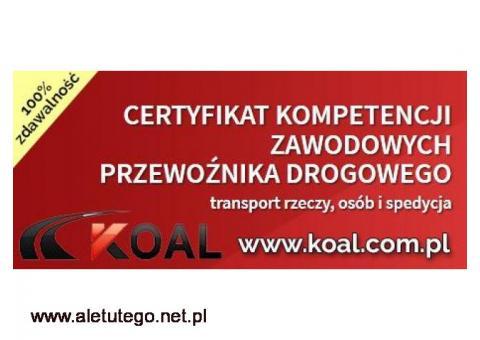 dokumenty do licencji TRANSPORTOWEJ, kurs LUBLIN