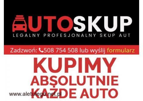 Kupimy ABSOLUTNIE każde AUTO osobowe ,dostawcze - U NAS NAJWYŻSZE CENY