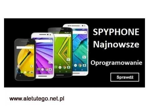 Podsłuch telefonu gsm spyphone szpieg smartfona tabletu komputera