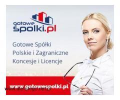 Gotowe Spółki Polskie , Wrocław, Katowice ,Gdańsk ,Kraków