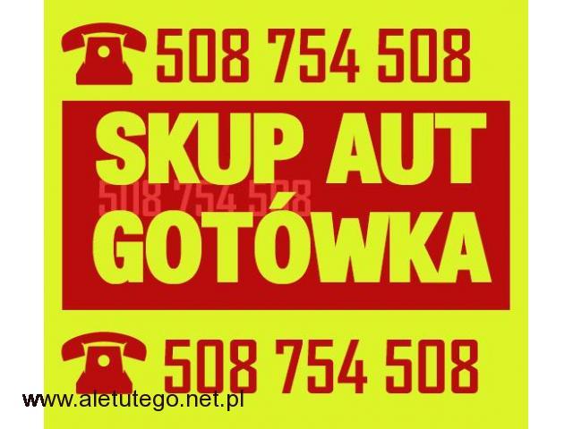 Skup aut za gotówkę - Skup samochodów w dobrym stanie - 1/1