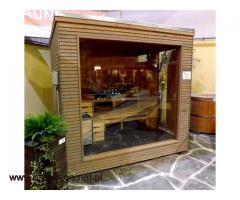Sauna do domu i ogrodu - Geisser