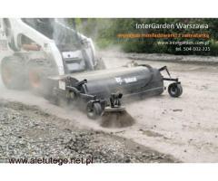 Zamaiatarka mechaniczna, usługi zamiatarką, czyszczenie dróg