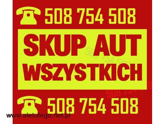 Skup Wszystkich Aut - skup aut używanych  /  Śląsk / Małopolska / Opolskie - 1/1
