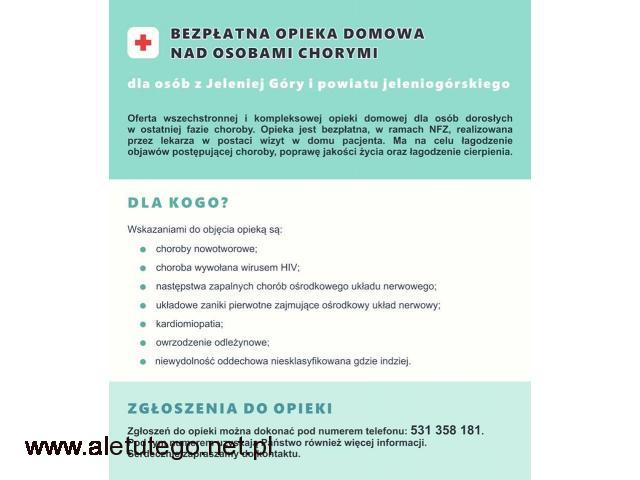 Bezpłatne hospicjum domowe w ramach NFZ. Powiat jeleniogórski - 1/1