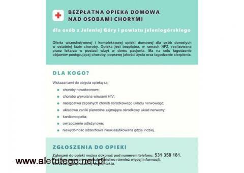 Bezpłatne hospicjum domowe w ramach NFZ. Powiat jeleniogórski