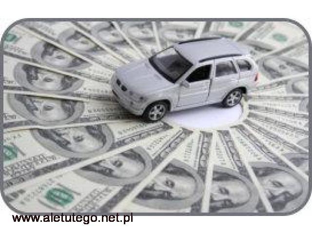 Pożyczka pod Auto do 50% wartości