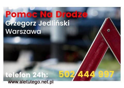 Jedliński Grzegorz - pomoc drogowa 24h w Warszawie