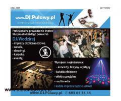 DJ, oprawa muzyczna imprez, nagłośnienie, wynajem sprzętu, DJ.Pulawy.pl