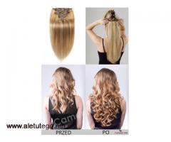 Masz krótkie włosy? Wypróbuj zestaw Clip In z włosów 100% naturalnych.
