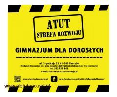 Szkoły Policealne,Liceum oraz Gimnazjum za 0 zł w ATUT :)