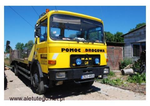 Profesjonalna pomoc drogowa - Koszalin i okolice