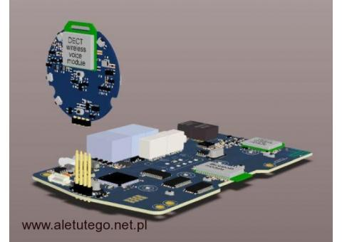 Modernizacje urządzeń elektronicznych, projektowanie, programowanie elektroniki,  EMC.