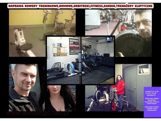 Naprawa rowery treningowe,domowe,orbitreki,fitness,kardio,trenażery eliptyczne - 1/1