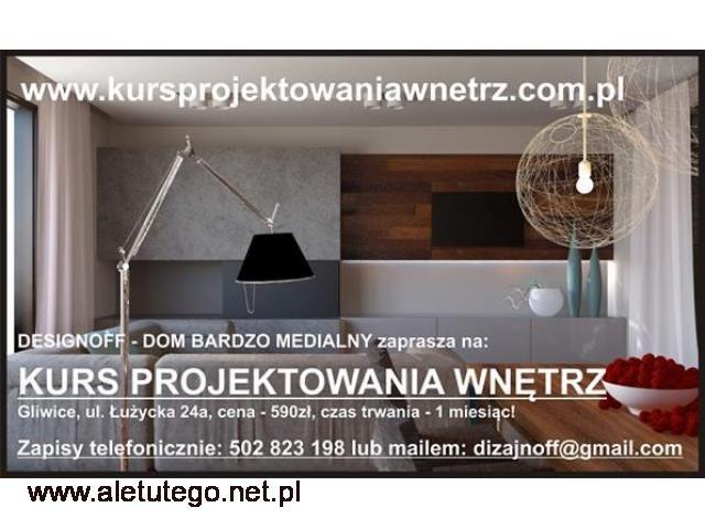 Kurs Projektowania Wnętrz 590ZŁ Śląsk, Śląskie, na Śląsku - 1/1