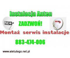 Montaż anten satelitarnych Anteny serwis instalacja Golczewo