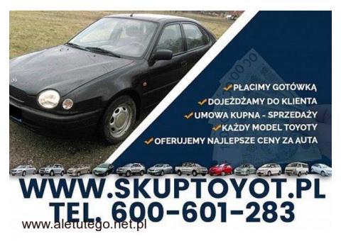 Kupię Toyotę Corolla e9 e10 e11 Hiace Hilux Picnic Carina