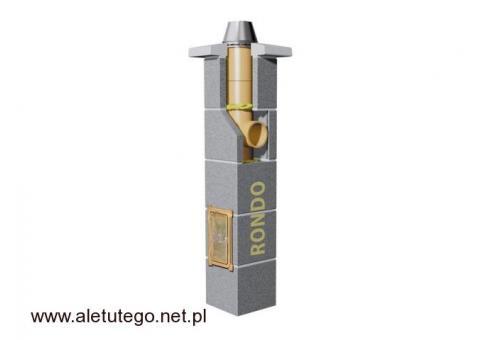 Sprawdzony komin do kominka - Schiedel Rondo Fi 180 6 m