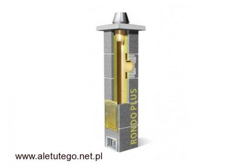 Komin Schiedel Rondo Plus do wszystkich paliw Fi 160 4 m