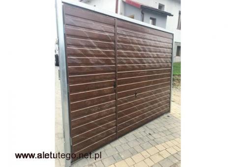 Bramy garażowe 3x2 Montaż GRATIS / Bramy do muru podnoszone  - Najtańsze Bramy na Śląsku