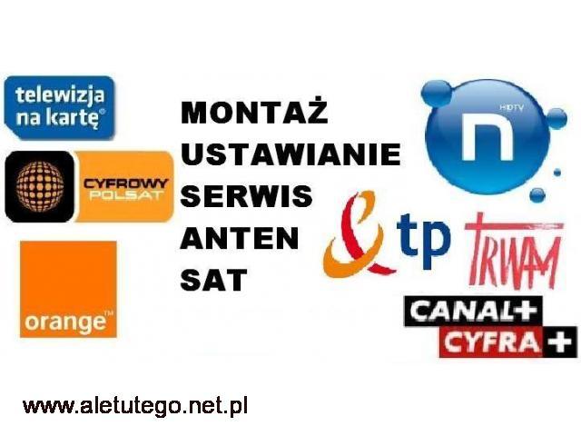 MONTAŻ USTAWIENIE anten satelitarnych i DVB-t, ustawianie - 1/1