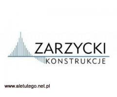 Doświadczone biuro projektowe - Zarzycki Konstrukcje