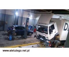 Holujemy i naprawiamy auta - osobowe, dostawcze, ciężarowe