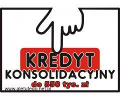 KONSOLIDACJA Twoich zobowiązań do 550.000 zł