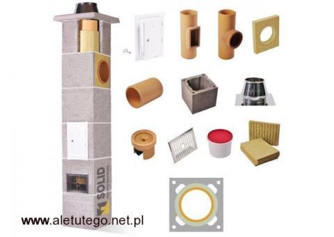 Komin Ceramiczny SOLID Premium Fi 200 10m Do Wszystkich Paliw