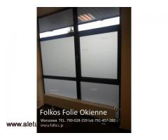Folie okienne;matowe, dekoracyjne, przeciwsłoneczne, lustro weneckie Warszawa