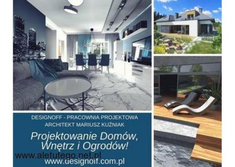 Projektowanie Domów, Wnętrz i Ogrodów!