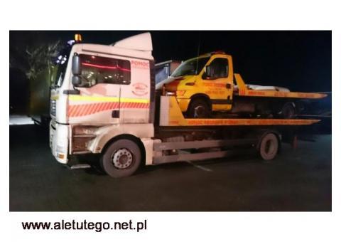 Auto holowanie pojazdów osobowych, dostawczych, ciężarowych - Poznań, kraj - Fast-Trans
