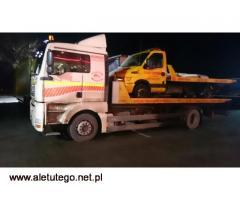 Profesjonalna pomoc drogowa z Poznania - Fast-Trans