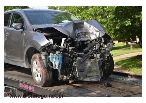 Transport po wypadku samochodowym