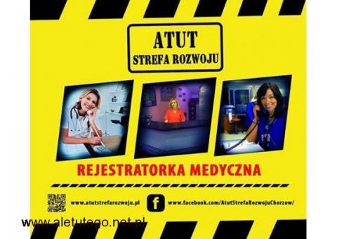 Trwają zapisy na kurs Rejestratorki Medycznej w ATUT Strefa Rozwoju w Chorzowie!