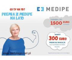 Praca dla opiekunek w Niemczech  /  1300 Euro + 300 Euro premii wakacyjnej