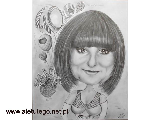 Karykaturzysta rysownik Atrakcja na Twoim Weselu