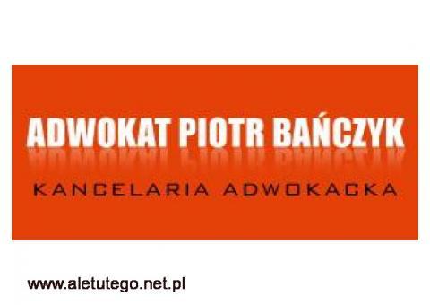 Kancelaria Adwokacka Adwokat Piotr Bańczyk