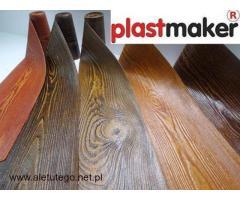Okładzina elewacyjna, elastyczne deski - PRODUCENT