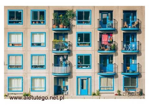 Wystrój balkonu