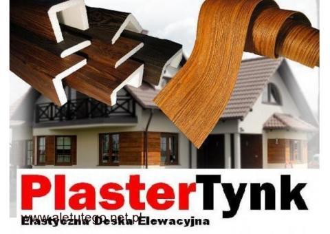 Deska elastyczna imitacja drewna / Wierne odwzorowanie drewna - PRODUCENT