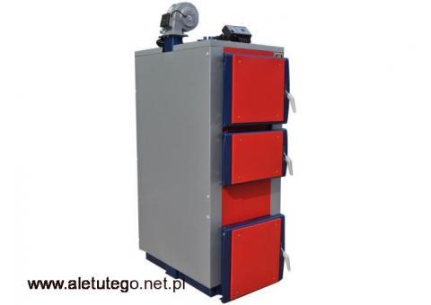 Podgrzewacz C.W.U 7kW pompa CO sterownik PID ogrzewanie zasypowy