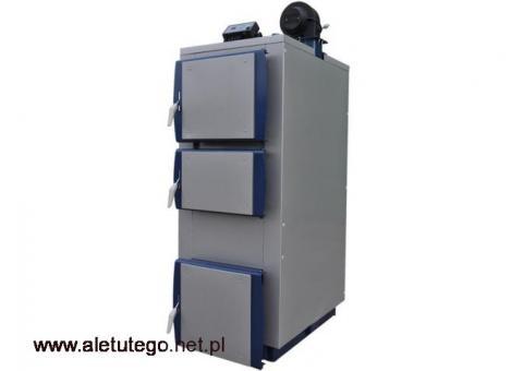 Uniwersalny Wielopaliwowy Podgrzewacz wody C.W.U 9kW pompa CO sterownik PID ogrzewanie zasypowy